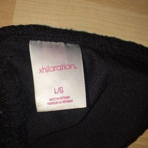 Xhilaration Swim - Xhilaration Black Crochet Monokini